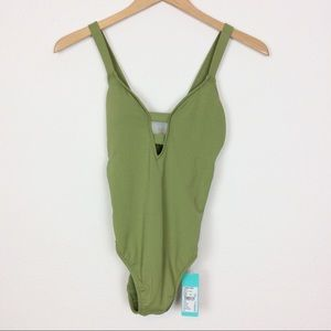 Seafolly Active Deep V Maillot bathing suit